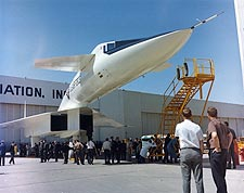 XB-70 / XB-70A Aircraft Nose During Rollout Photo Print for Sale