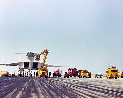 XB-70 / XB-70A Being Serviced on the Ground Photo Print