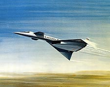XB-70 / XB-70A in Flight Artistic Rendering Photo Print for Sale