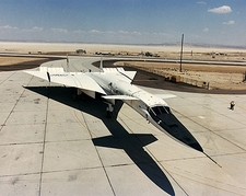 XB-70 / XB-70A Parked on Ramp Air Force Photo Print