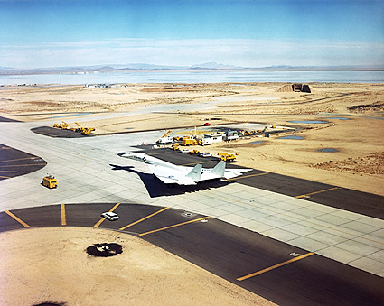 XB-70 / XB-70A Taxiing Before a Test Flight Photo Print