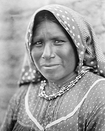 Yaqui Matron Edward S. Curtis Portrait 1907 Photo Print