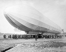 Zeppelin Airship / Blimp No. 3 On Ground Photo Print for Sale