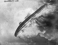 Zeppelin LZ 2 / LZ2 Airship Explosion Photo Print for Sale