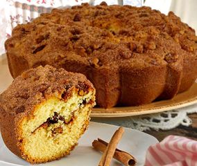 Rocky Mountain Old Fashioned Cinnamon Streusel Coffee Cake