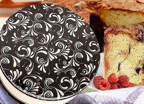 Signature Coffee Cakes in a Dazzling Gift Tin
