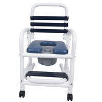 "18"" Wide New Era Infection Control Shower Chairs 310 Pound Capacity"