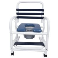 "22"" Wide New Era Infection Control Shower Chairs 385 Pound Capacity"
