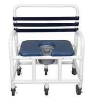 """26"""" & 30"""" Wide Heavy Duty Bariatric New Era Infection Control Shower Chairs Up to 710 Pound Capacity"""