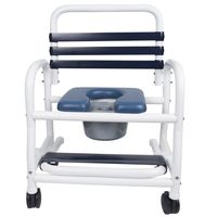 "26"" Wide New Era Infection Control Shower Chairs 435 Pound Capacity"