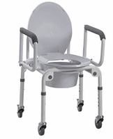 Bedside Commodes with Wheels
