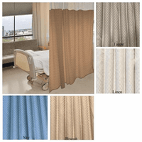 Cocomo Quick-Ship Hospital Curtains & Cubicle Curtains (4 Colors)