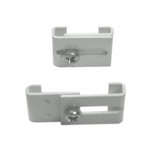 Curtain Track: Ceiling Clips, Grid Ceiling Hangers (2 Pack)