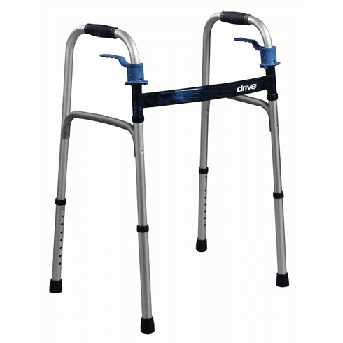 Deluxe Dual Trigger Release Folding Walker (Adult or Junior)