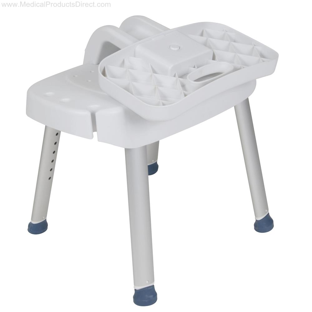 Drive Bathroom Safety Shower Chair With Folding Back