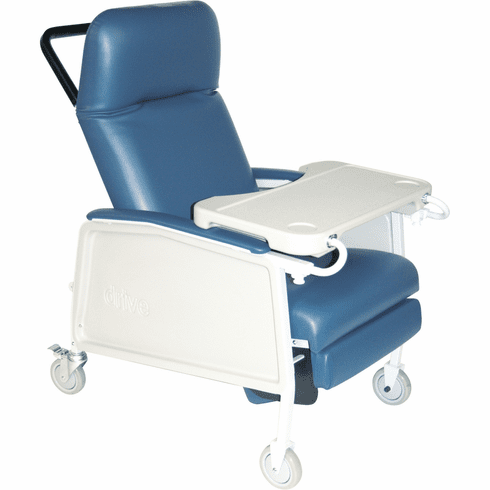 "Drive Elderly 20"" Wide Clinical Recliner 3-Position Recliner"
