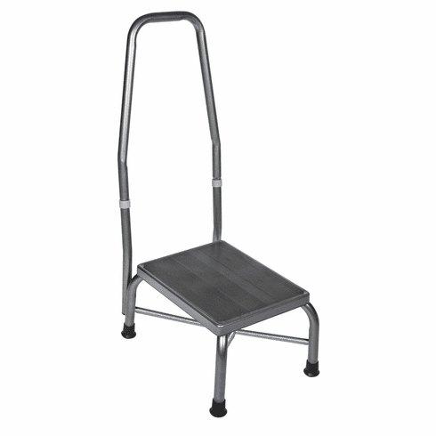Drive Medical Heavy Duty Bariatric Foot Stool with Safety Rail 500 lbs Capacity
