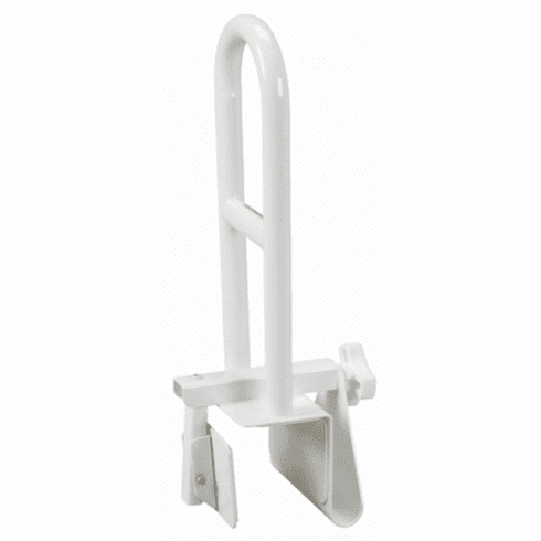 Drive Sure Safe Clamp-On Tub Safety Rail, Parallel to Tub Wall