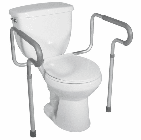 Drive Toilet Safety Frame with Padded Armrests