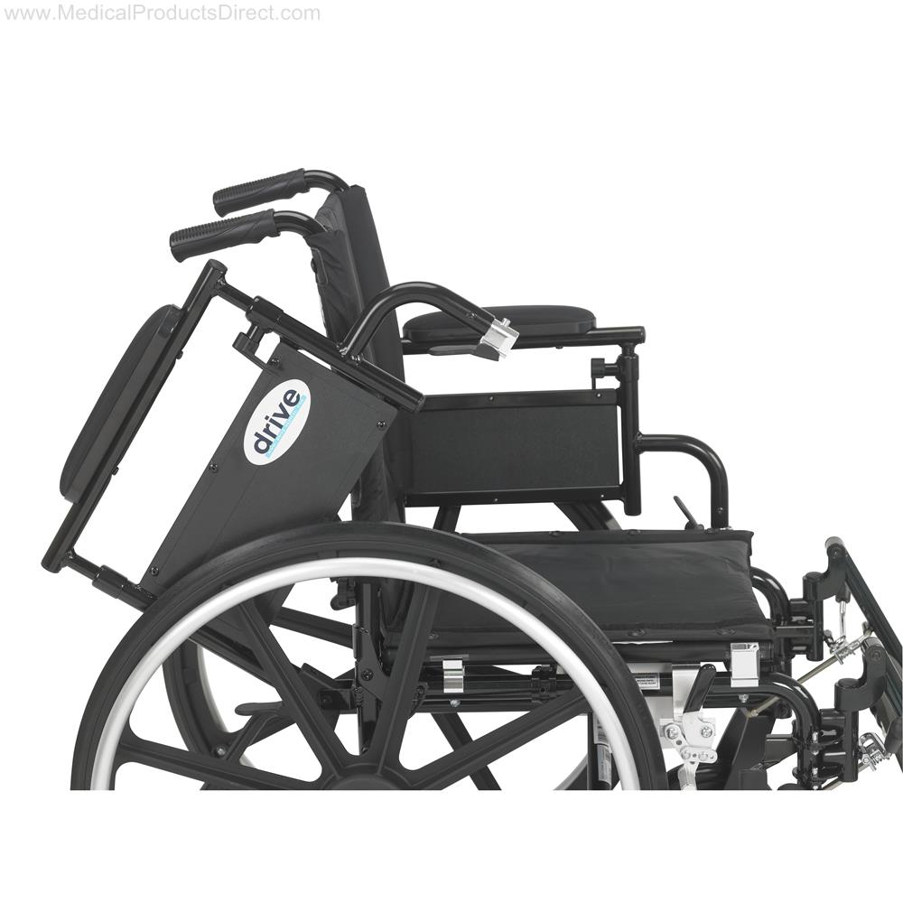 Drive Viper Plus Gt Wheelchair With Flip Back Removable
