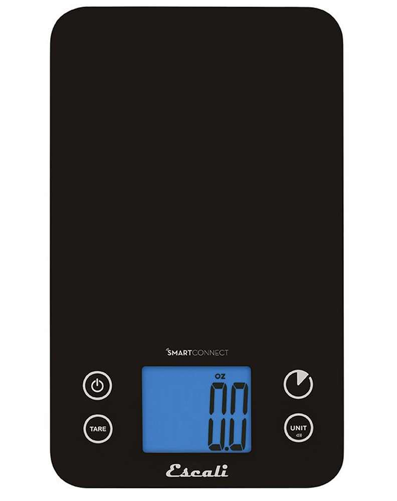 Escali Smartconnect Kitchen Nutrition Scale 11 Lb 5 Kg