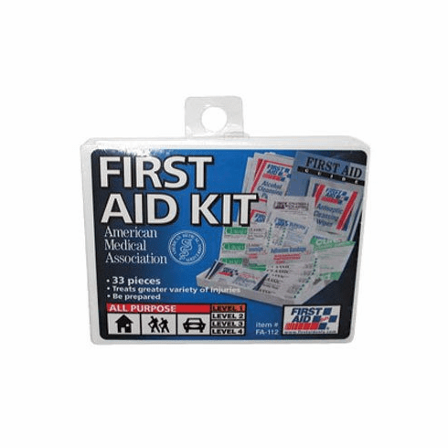 First Aid Kit, For 25 People