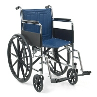 Getting the right size and type of wheelchair.