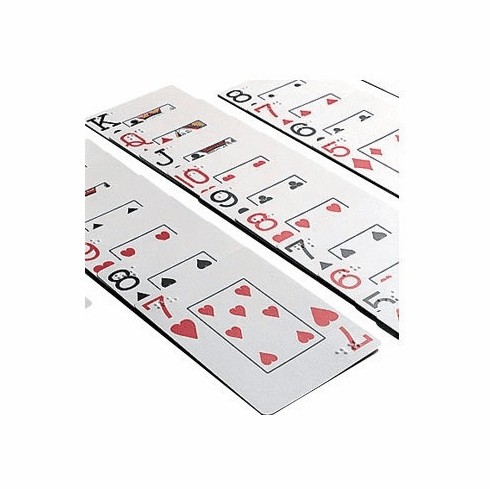 Giant Face Playing Cards, Standard Size Cards