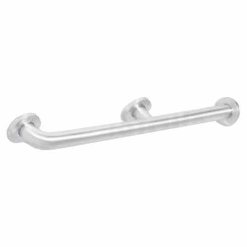 "Grab Bar, Straight with Corner Mount, Stainless Steel, 54"" Long"