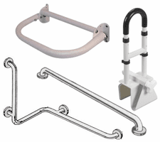 Grab Bars and Safety Rails