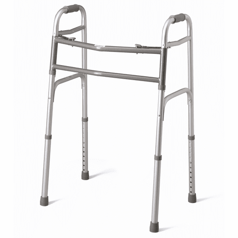 Guardian Bariatric Walker, 2 Button, Extra Wide, 500 lb capacity