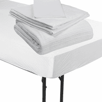 Hospital Bed Bedding - Sheets, Blankets Pillows & Mattress Covers