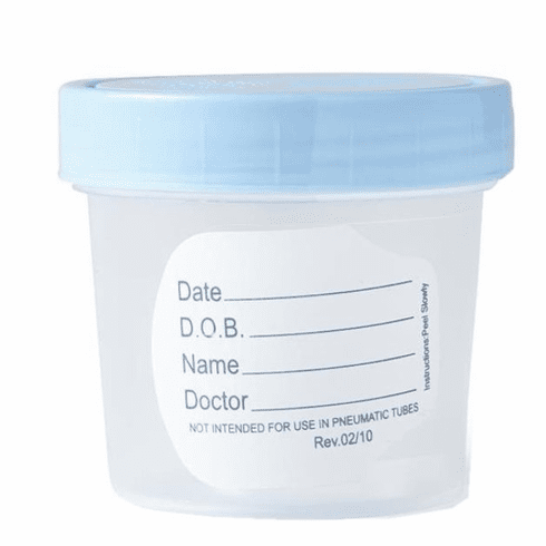 Medline Basic Specimen Containers,4 -100 Each / Case