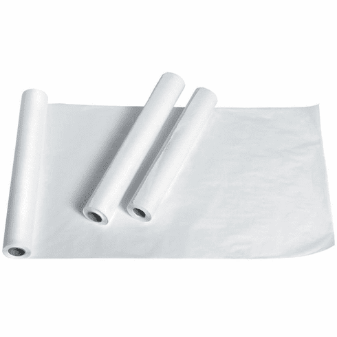 """Medline Deluxe Crepe Exam Table Paper, 18""""x125' -12 Roll / Case"""