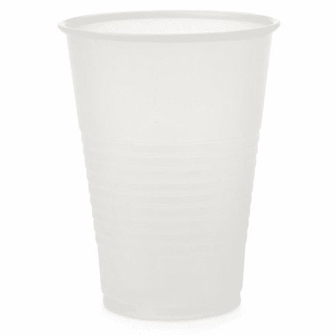 Medline Disposable Plastic Drinking Cups,Translucent, 7 OZ - 2500 Each / Case