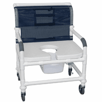 "MJM PVC Shower Chairs - 26"" Wide"