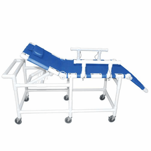 MRI Safe Shower Gurney, with Elevating Head and Foot