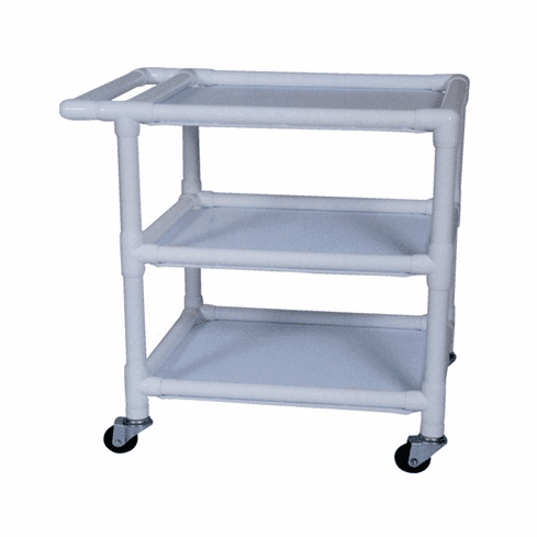 Non-Magnetic MRI Safe PVC 3 Shelf Cart