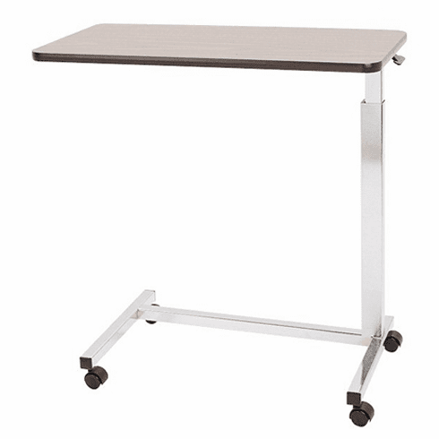 """Overbed Table, Automatic """"U"""" Base Overbed Table"""