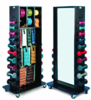 Physical Therapy Weight Racks and Mirrors
