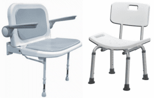 Shower Stools and  Bath Chairs