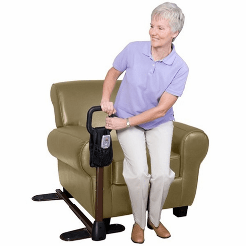 The Couch Cane Safety Rail System