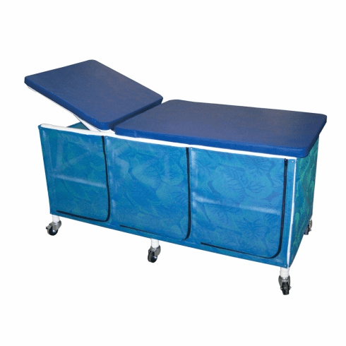 Treatment Table, PVC Treatment Table with 3 Zippered Doors, by MJM