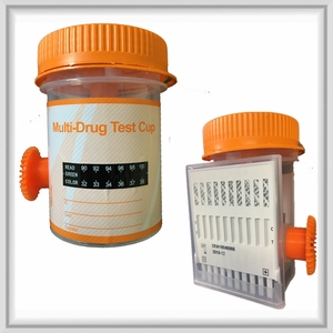 10 Panel 2-Step Urine Drug Test Cup (Box of 25)