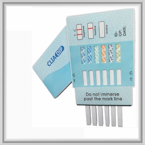 12 Panel Drug Test Dip Card  (AMP, BAR, BUP, BZO, COC, MDMA, MTD, OPI, OXY, PCP, TCA, THC)