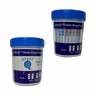 14 Panel Drug Test Cup - QTEST™ (Incld's ETG & FEN) with Adulteration