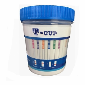 14 Panel T-Cup Drug Test Cup with Adulteration