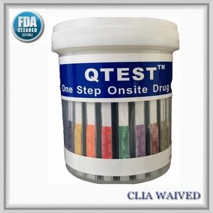 5 Panel Cup     QTEST™    CLIA Waived