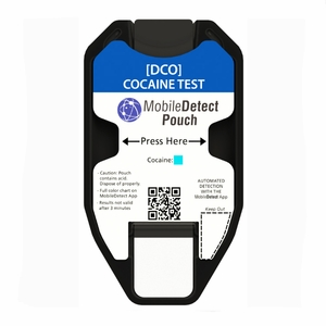 COC Surface Residue (Pouch) Drug Test