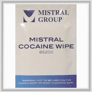 Cocaine Surface Residue Drug Detection Wipe – Wiping Cocaine Identification
